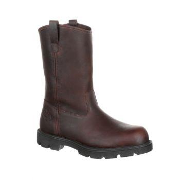 Georgia Boot Homeland Steel Toe Pull-On Work Boot