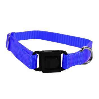 Adjustable Nylon Collar, Extra Small, Blue