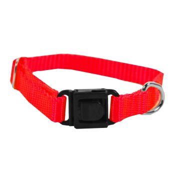 Adjustable Nylon Collar, Extra Small, Red