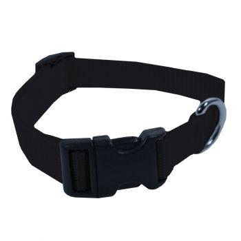 Adjustable Nylon Collar, Small, Black