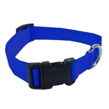 Adjustable Nylon Collar, Small, Blue