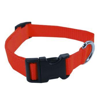 Adjustable Nylon Collar, Small, Red