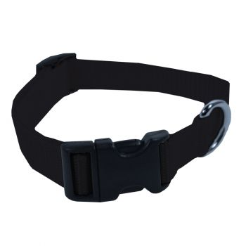 Adjustable Nylon Collar, Medium, Black
