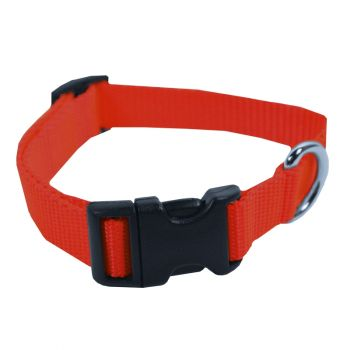 Adjustable Nylon Collar, Medium, Red