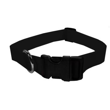 Adjustable Nylon Collar, Large, Black