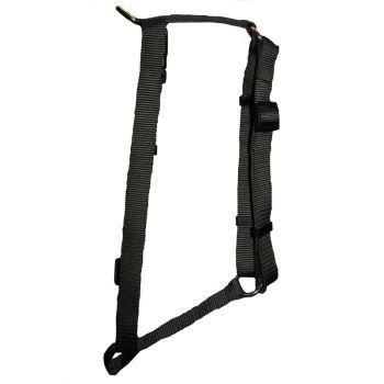 "Adjustable Harness, Small, Black, 5/8""x12""-20"""