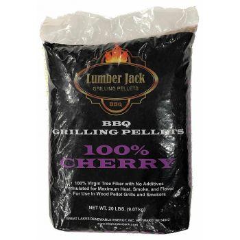 Lumber Jack 100% Cherry Pellets, 20 Lbs.