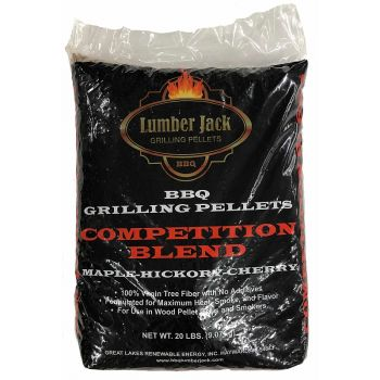 Lumber Jack Competition Blend Pellets, 20 Lbs.