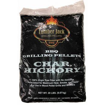 Lumber Jack Char-Hickory Blend Pellets, 20 Lbs.