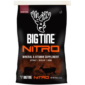 Big Tine Nitro Mineral & Vitamin Supplement, 20 Lb.