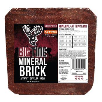 Big Tine Nitro Mineral Brick, 20 Lb.
