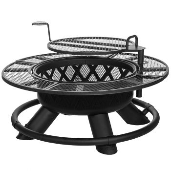 Big Horn Outdoors Lattice Ranch Fire Pit