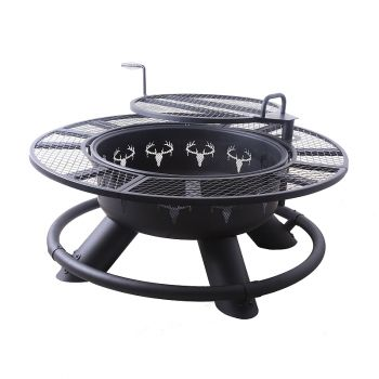 Big Horn Outdoors Deer Ranch Fire Pit