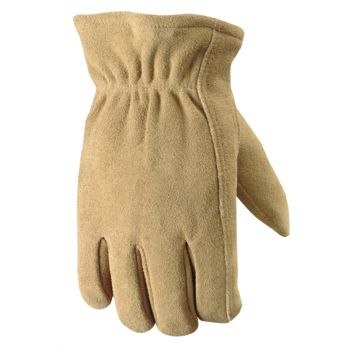 Men's Deerskin Winter Gloves with Thinsulate Insulation (Wells Lamont 1091)