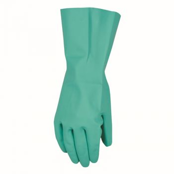 Chemical Resistant Nitrile Gloves,  Solvent and Pesticide Resistant, Reusable (Wells Lamont 178)