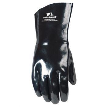 Wells Lamont Work Gloves, Neoprene Coated, One Size, Black (Wells Lamont 192)