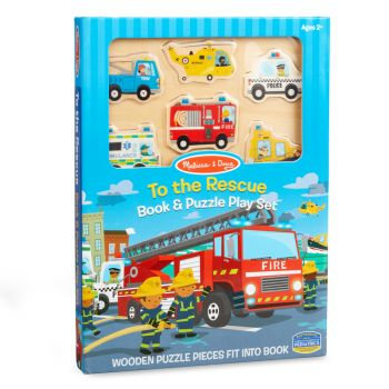 Book & Puzzle Play Set: To the Rescue