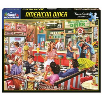 American Diner 1000 pc. Puzzle