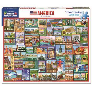 America 1000 pc. Puzzle