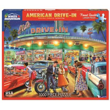 American Drive-In 1000 pc. Puzzle