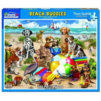 Beach Buddies 550 pc Puzzle