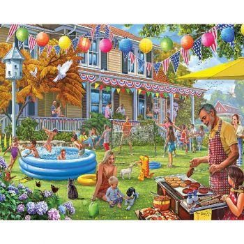 Backyard BBQ - 1000 Piece Jigsaw Puzzle