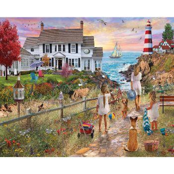Beach Path - 1000 Piece Jigsaw Puzzle
