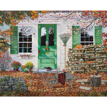 Autumn Leaves - 1000 Piece Jigsaw Puzzle
