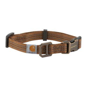 Carhartt Dog Collar, Carhartt Brown / Brushed Brass, Large