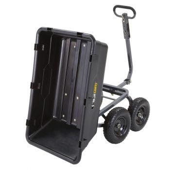 1,200 lb. Heavy Duty Poly Yard Dump Cart