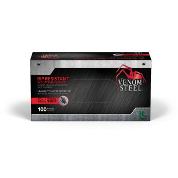 Venom Steel 2-Layer, 6 Mil, Nitrile Gloves