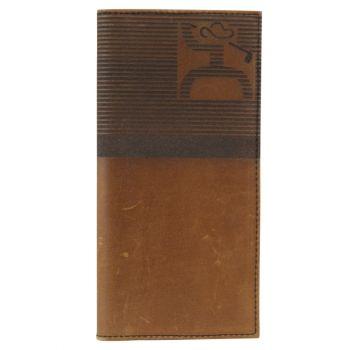 Hooey Brown Golf Wallet w/Striped Logo