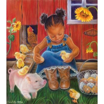 Barn Babies 300 pc puzzle