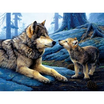 Brother Wolf 500 pc puzzle