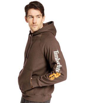 Men's Timberland Pro® Hood Honcho Sport Hoodie, Dark Brown, MD