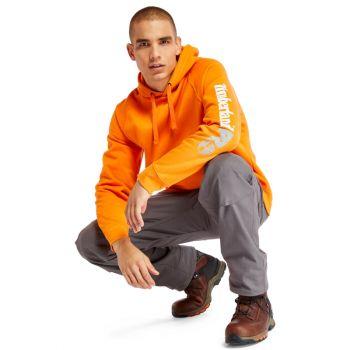 Men's Timberland Pro® Hood Honcho Sport Hoodie, Pro Orange, LG