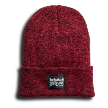 Timberland Pro Essential Watch Cap, Marled Blue/Red
