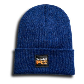 Timberland Pro Essential Watch Cap, Marled Royal/Navy