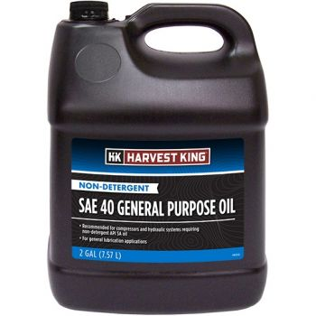 Harvest King Non-Detergent SAE 40 General Purpose Oil, 2 Gal.