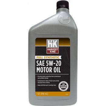Harvest King Full Synthetic SAE 5W-20 Motor Oil, Qt.
