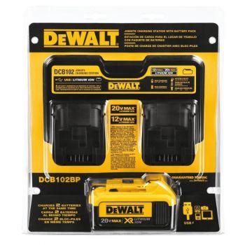 DEWALT 12 V to 20 V MAX Jobsite Charging Station