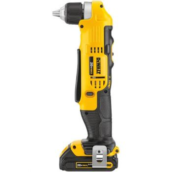 DEWALT 20 V MAX Lithium Ion 3/8 In. Right Angle Drill/Driver Kit (1.5 Ah)