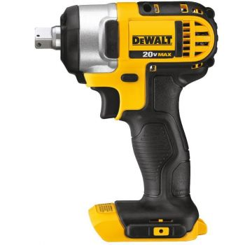 DEWALT 20 V MAX Lithium Ion 1/2 In. Impact Wrench with Detent Pin (Tool Only)