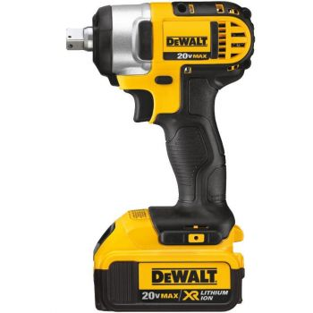 DEWALT 20 V MAX Lithium Ion 1/2 In. Impact Wrench Kit with Detent Pin