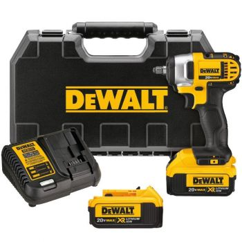 DEWALT 20 V MAX Lithium Ion 3/8 in. Impact Wrench Kit