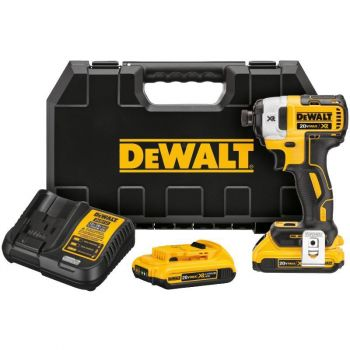 DEWALT 20 V MAX XR Brushless 1/4 In. 3-Speed Impact Driver