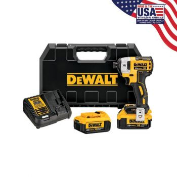 DEWALT 20V MAX XR Brushless 1/4-In 3-Speed Impact Driver