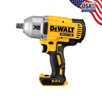 DEWALT 20V MAX XR Brushless High Torque 1/2-in Impact Wrench with Detent Pin Anvil (Bare)