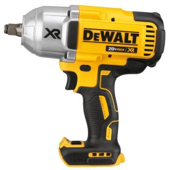 DEWALT 20 V MAX XR Brushless High Torque 1/2-in Impact Wrench w. Hog Ring Anvil Bare