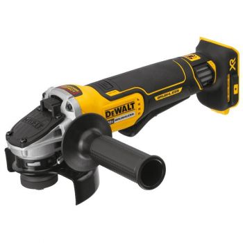 DEWALT 4.5-in (115-mm) 20-volt MAX XR Brushless Paddle Switch Small Angle Grinder with Kickback Brake